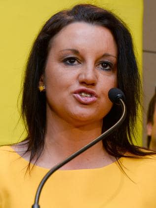 Wants a man with cash who is well-hung ... Senator Jacqui Lambie's words not ours.