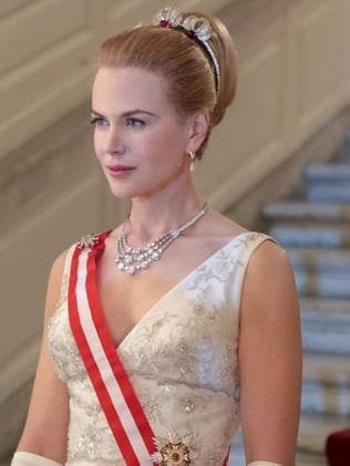 Nicole Kidman as Grace Kelly.