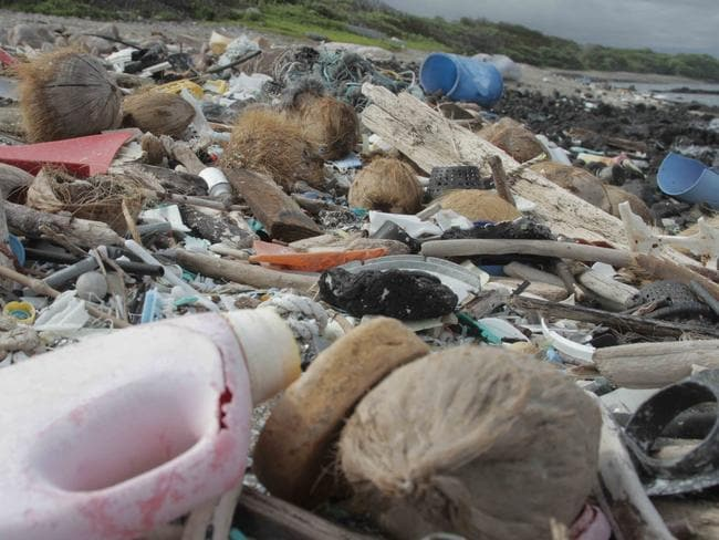Kamilo Beach in Hawaii is known for its accumulation of plastic debris from the Great Pacific Garbage Patch. Picture: Tim Silverwood.