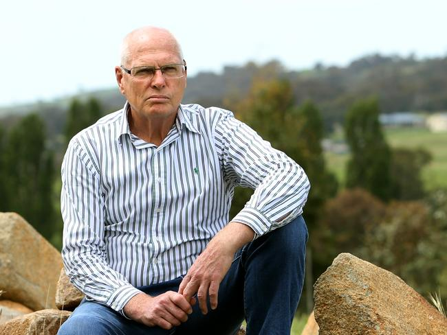 Retired Major General Jim Molan who was a senior officer in the Australian Army at his home in NSW. Picture: Kym Smith