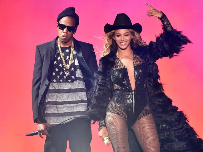 Jay-Z and Beyonce — trouble in paradise? Picture: PW/WireImage
