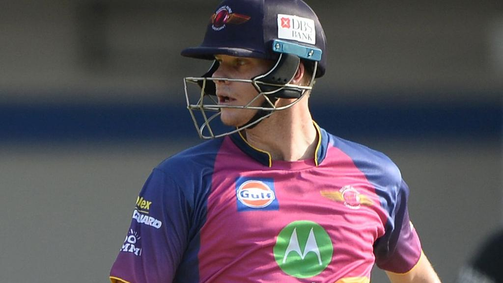 Steve Smith missed Pune's match against Delhi with an upset stomach.
