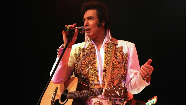Max Pellicano will bring his dynamic Elvis show to the stage. Photo: Supplied