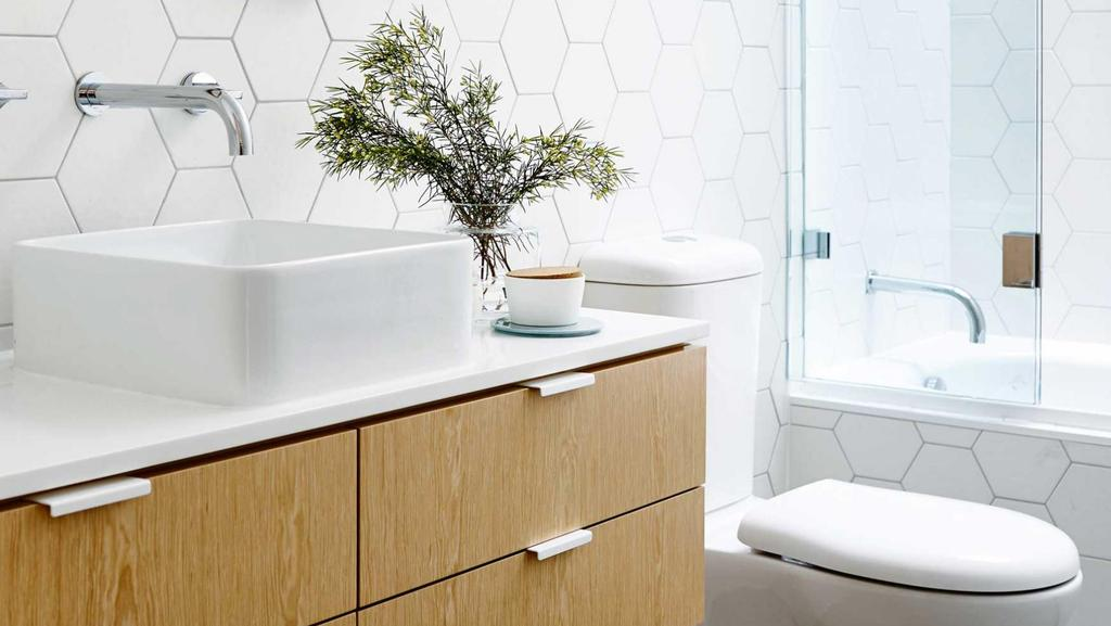 5 rules of great bathroom design