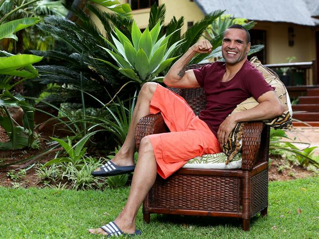 Anthony Mundine has made a shock exit from I'm A Celebrity 2018.