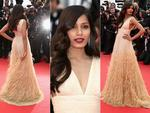 Freida Pinto walks the red carpet at the Cannes International Film Festival 2014. Pictures: Getty