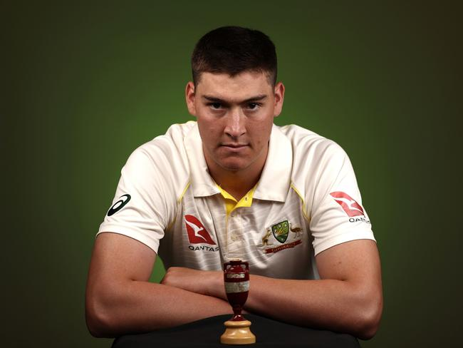 Matt Renshaw looks to have secured his spot at the top of the order for the first Ashes Test.