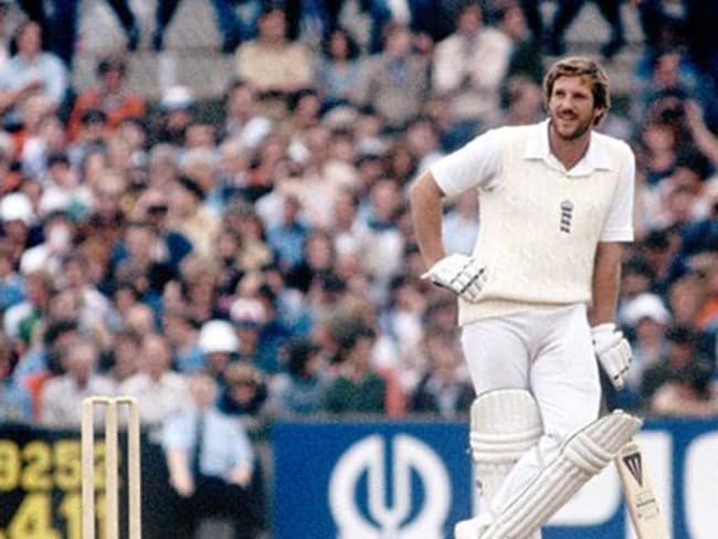 Ian Botham smashed 118 in quick time at Old Trafford in 1981.