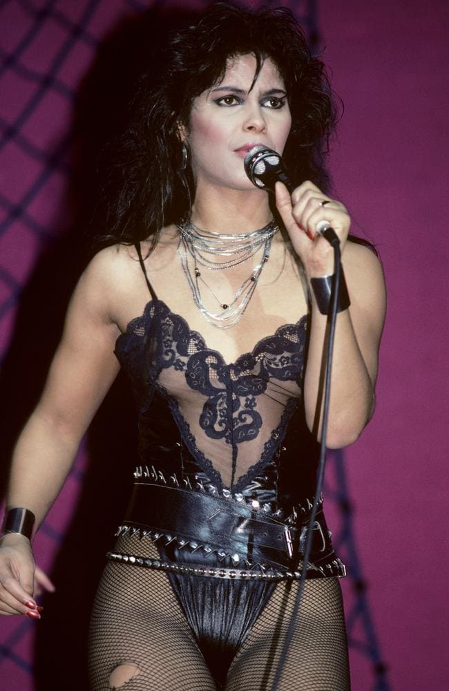 Vanity Performing With Vanity 6 At Radio City Music Hall In New York City  On March