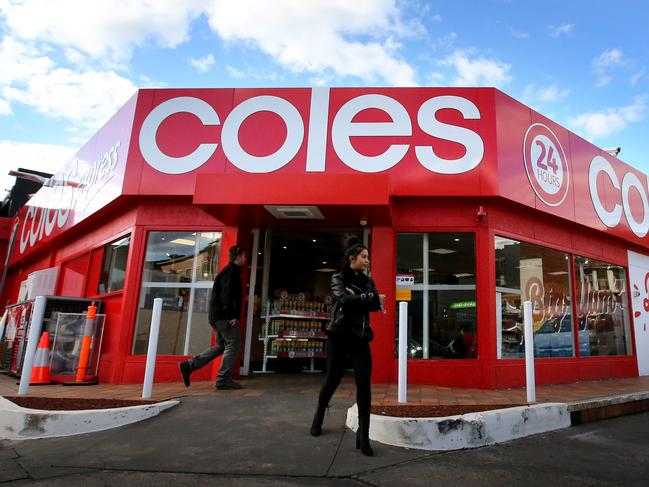 Coles sales growth slowing