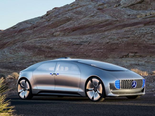 Is this Mercedes-Benz driverless car concept the future of cars?