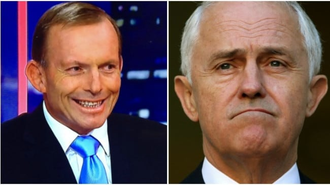 There's obviously no love lost between former Prime Minister Tony Abbott and the man who took his job, Malcolm Turnbull.
