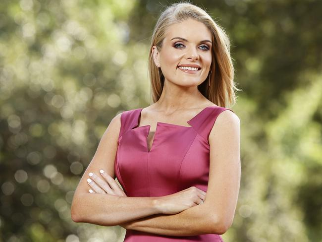 Erin Molan says she does not know what role she will play in the revamped Footy Show. Picture: Justin Lloyd