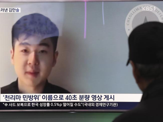 There is speculation Kim Han-sol is in danger after he openly spoke about his father's death and criticised the North Korean regime in the past. Picture: Lee Jin-man