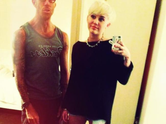 Miley's new hair