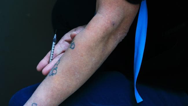 There's no way to know how much of the drug has been drawn into a syringe. Picture: Dylan Robinson