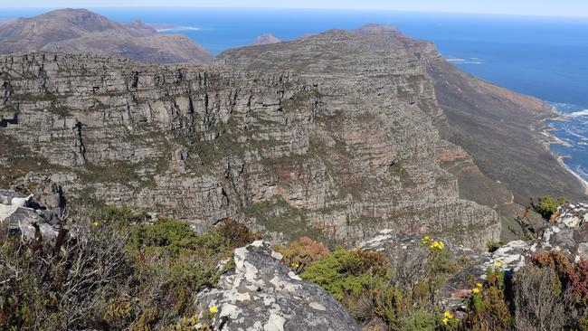 Not all those who climb to the top of Table Mountain in Cape Town, South Africa make it down. Picture: Megan Palin.