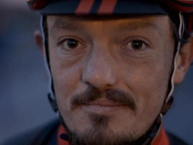 British cyclist Mike Hall who is feared to have been involved in the collision. Picture: Twitter