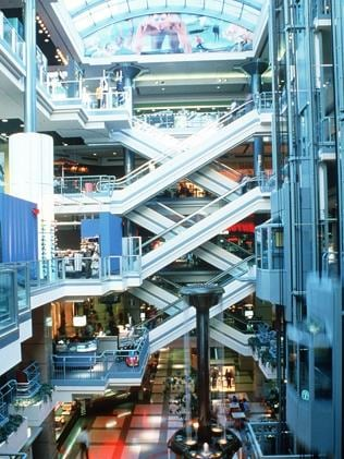Montreal's underground city ... Asmiov predicted that more human activity would take place underground in the year 2014. Pict...