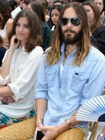 Alma Jodorowsky and Jared Leto attend the Chanel show as part of Paris Fashion Week - Haute Couture Fall/Winter 2014 in Paris, France. Picture: Getty