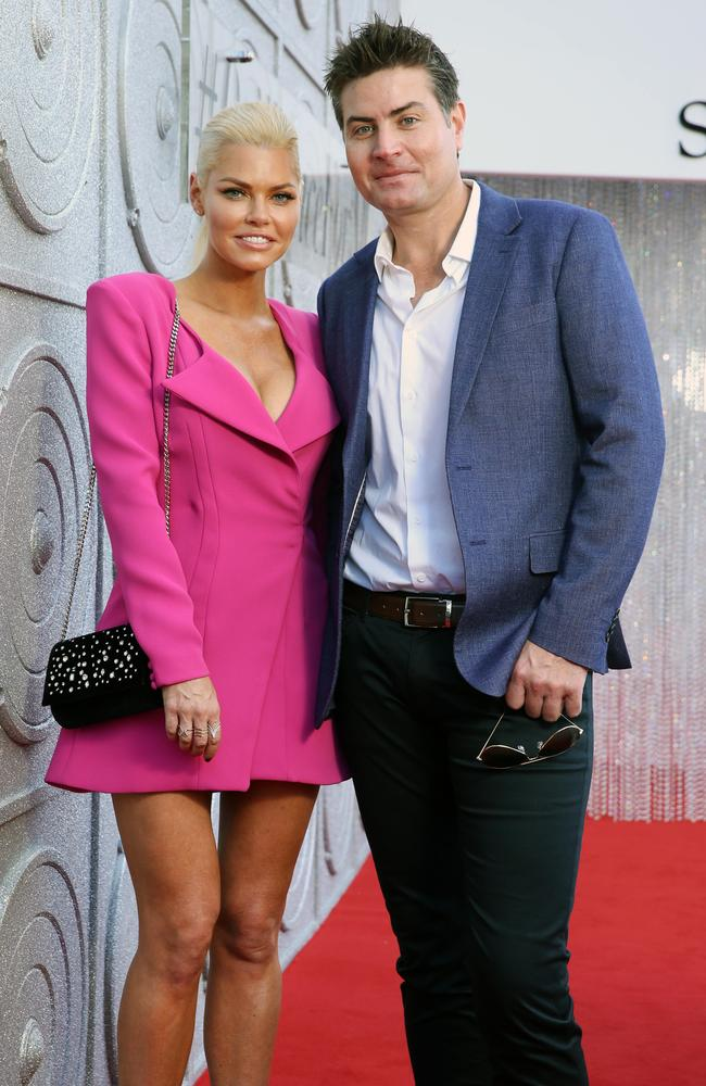 Sophie and Stu snuff out the rumours on the red carpet.