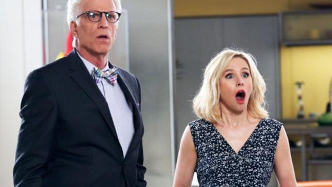 It's actually shocking that you're not watching The Good Place.