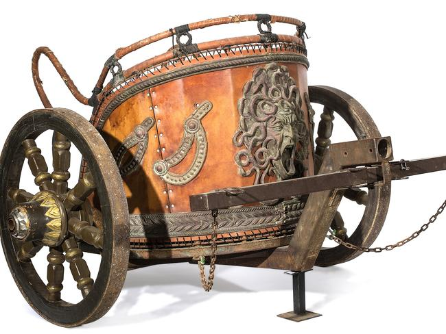 A chariot from the film Gladiator.