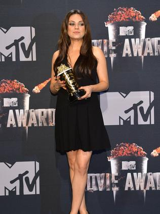 Mila Kunis in April.