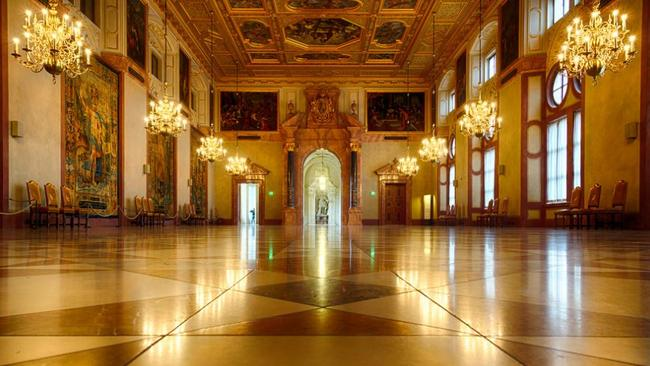 The Residenz in Munich, a former royal palace, is much easier to get to and just as rewarding. Picture: Miguel Mendez