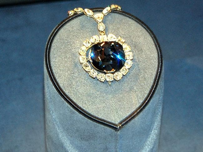 The Hope Diamond, one of the most famous pieces of jewellery in history. For some reason. Picture: Blue Diamond Photography