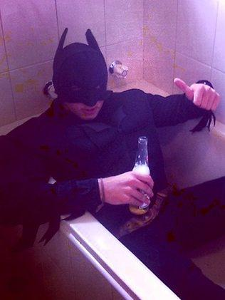 Batman or Bathman? One Schoolie gets dressed up for the occasion