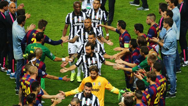 Champions league final barcelona v juventus player