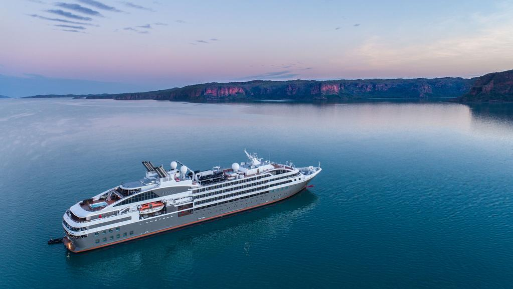 French Cruise Ship To Call Darwin Home  Gold Coast Bulletin