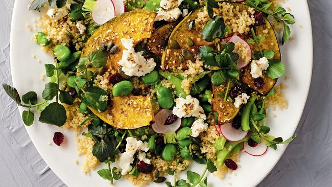 Quinoa is a great 'warming food' but don't be fooled by the pumpkin. Picture: Supplied