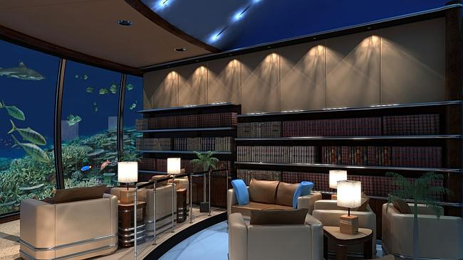 MAYBE catch up on some reading. Moby Dick or Twenty Thousand Leagues Under the Sea. Picture: poseidonresorts.com