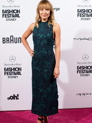 Emma Leonard at the Mercedes-Benz Fashion Festival Sydney 2015 opening night at Sydney Town Hall on September 24. Picture: Mark Nolan / Getty Images