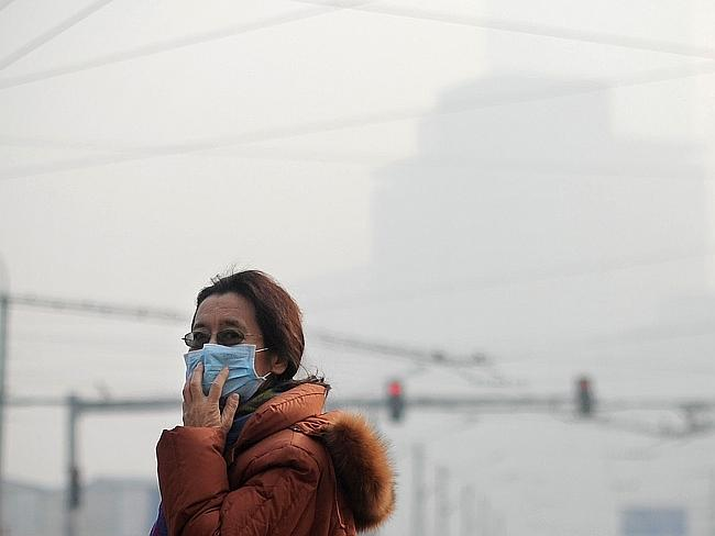 "Pollution...Chinese Premier Li Keqiang said he is ""declaring war"" on pollution, as public concern about the health and environmental impact grows. Picture: AFP"