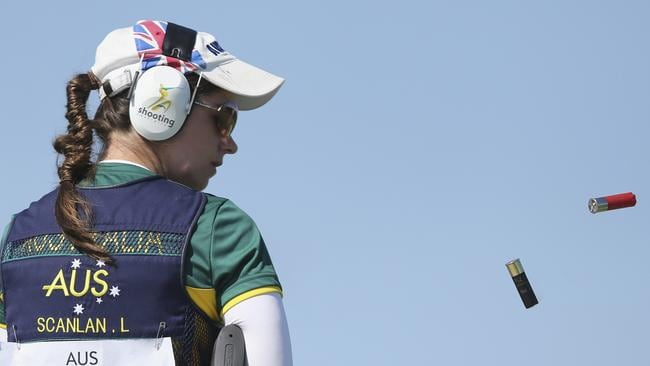 Laetisha Scanlan has defended her Commonwealth gold. Picture: Michael Klein