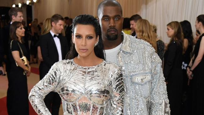 Kim and Kanye originally began the process anonymously. Picture: AFP / Getty Images / Larry Busacca.
