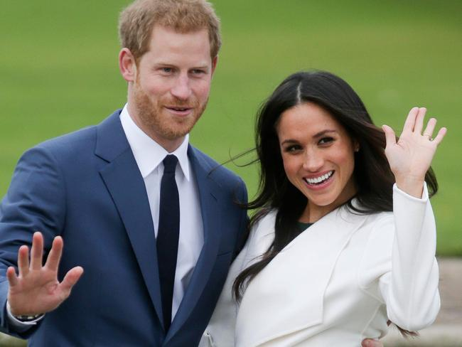 Prince Harry and Meghan Markle announced their engagement last month. Photo: AFP