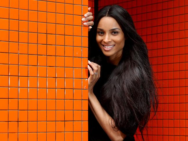 American pop star Ciara gets tour back on track after ...