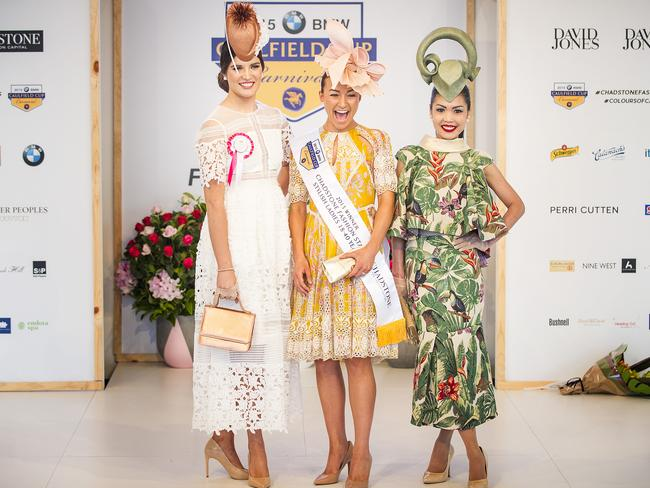 Image result for All the colour and fashion from the Caulfield Cup