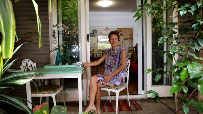 Queenslander Rebecca Ross rents out her unit through Airbnb.