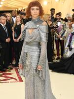 Zendaya attends the Heavenly Bodies: Fashion and The Catholic Imagination Costume Institute Gala at The Metropolitan Museum of Art on May 7, 2018 in New York City. Picture: Getty Images