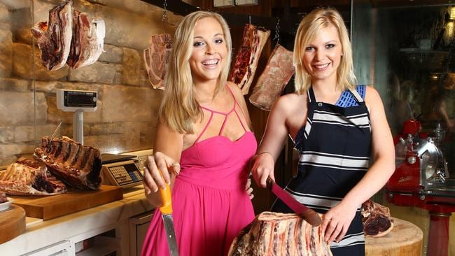 My kitchen rules mkr s katie brooke and nikki spehar fire for Y kitchen rules contestants