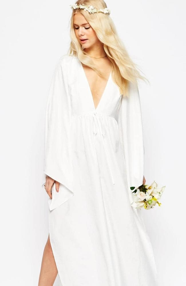 Wedding dresses h m and asos put cheap and chic gowns on for How much to spend on wedding dress