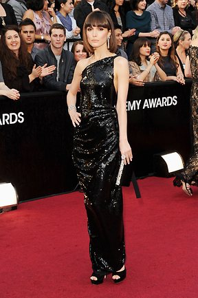 Actress Rose Byrne arrives at the 84th Annual Academy Awards on February 26, 2012. Picture: Jason Merritt/Getty Images