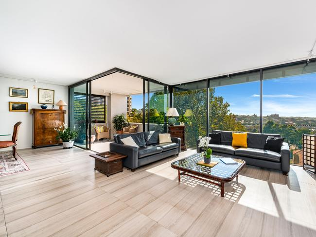 Mr Jackson has seen strong young downsizer interest in 505/150 Walker St, North Sydney.