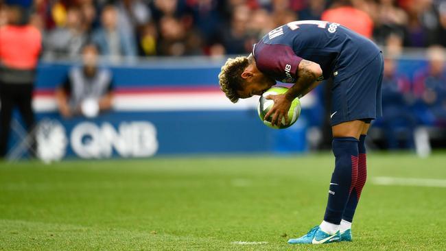 Neymar penalty, free kick goal, Cavani, PSG v Bordeaux ...