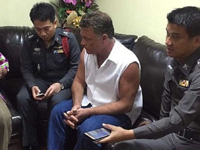 He has apologised. Picture: Thai Police